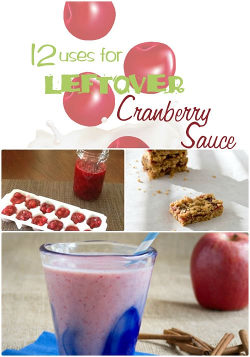 12 Uses for Leftover Cranberry sauce - PLUS another 18 creative ways to use your Thanksgiving leftovers
