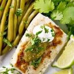 Grilled Mahi Mahi with Salsa Verde