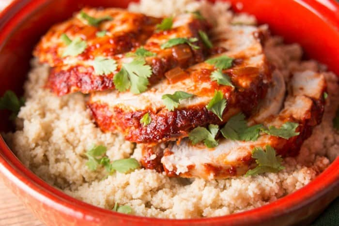 Harissa Pork Loin Roast plus more delicious pork loin recipes!