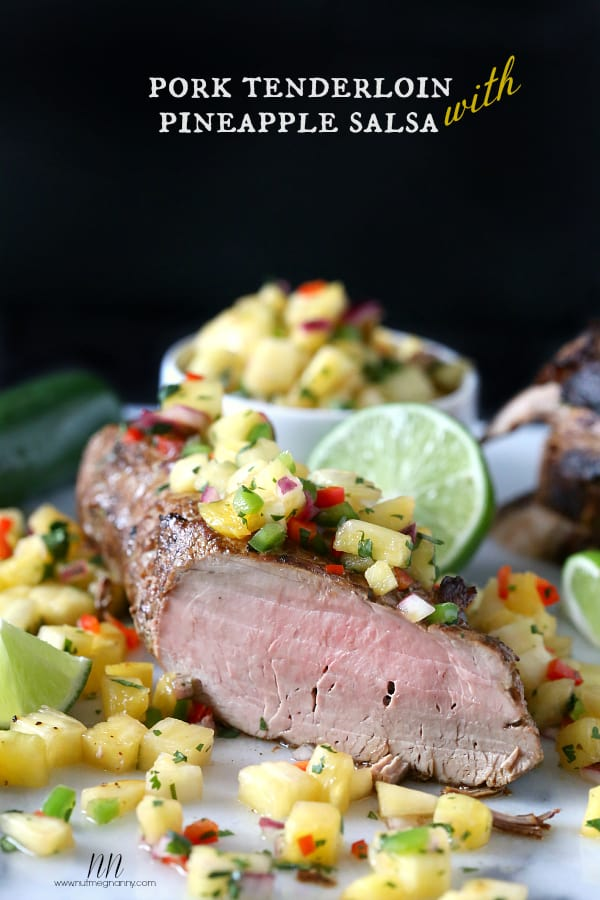 Pork Tenderloin with Pineapple Salsa plus more great pork loin recipes!