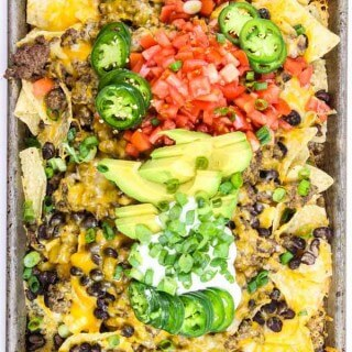 Mexican Nachos in the Oven
