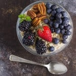 Overnight Oatmeal Recipe with Fresh Berries