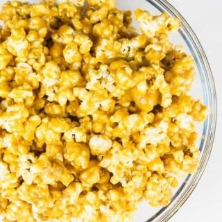 Peanut Butter & Maple Gourmet Popcorn