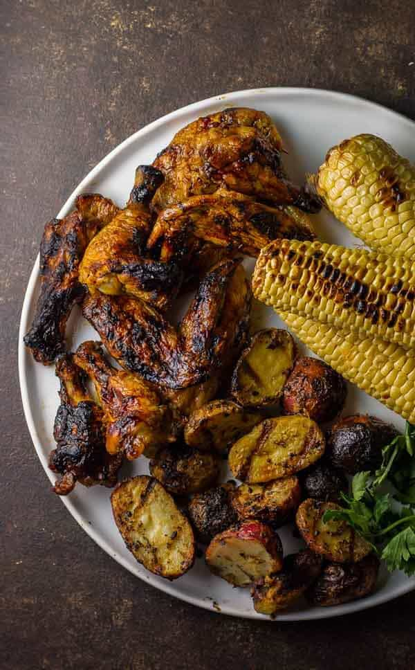 how to make spicy chicken wings on the grill
