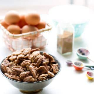 If you want to know How to Make Candied Pecans that are so addicting everyone will be asking you for the recipe, then this is for you!