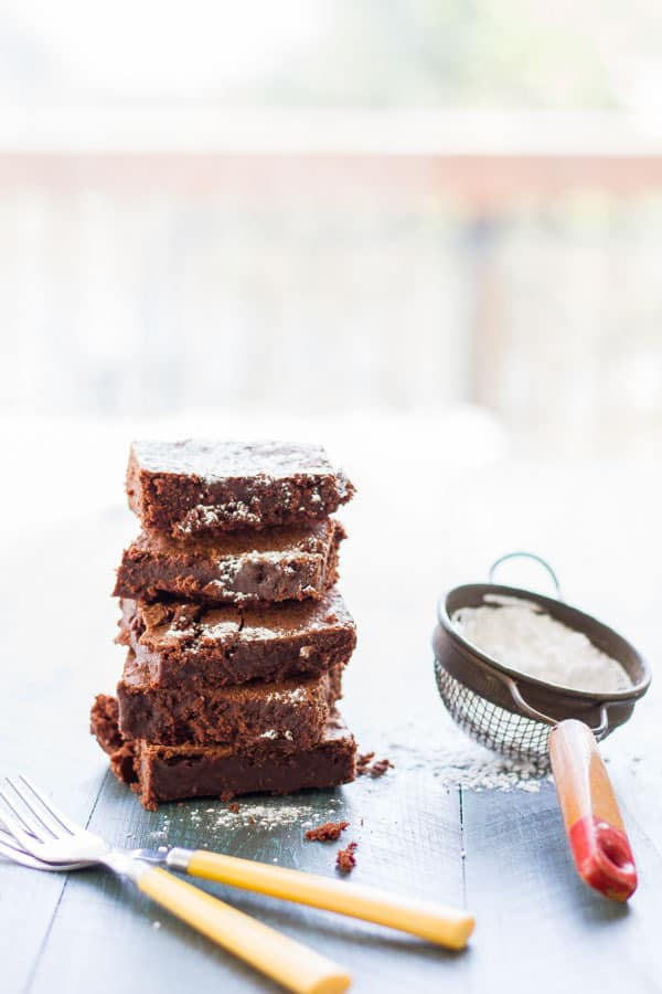 Forget the boxed mixes! If you want to know how to make brownies from scratch that's just as easy as a mix yet turns out the best brownies you've ever made, then this recipe is for you!