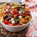 Classic Pasta Salad with Italian Dressing