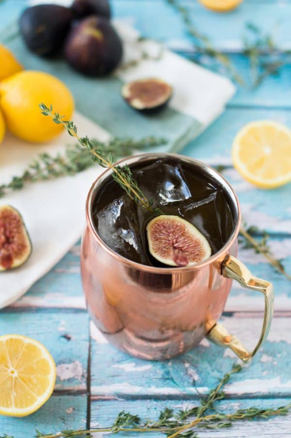 A refreshing twist on a classic drink! The Mediterranean Mule PLUS 12 more creative Moscow Mule variations!