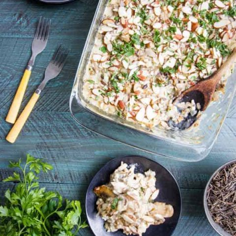 Wild Rice Hotdish