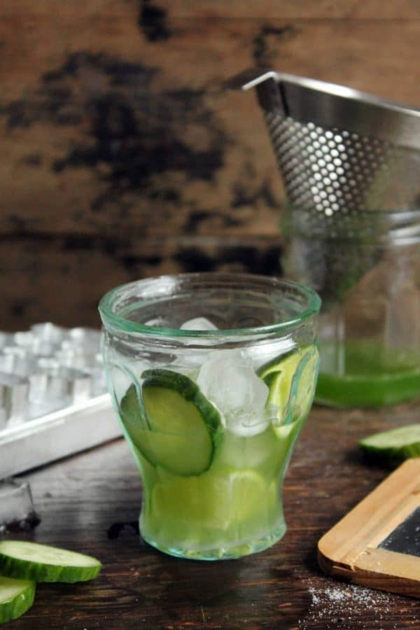"""Cucumber Caipirinha Cocktail - We've answered the question """"What to do with cucumbers?"""" The ULTIMATE list including appetizers, soups, salads, sides and more!"""