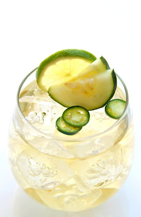 """Cucumber Margarita - simple and refreshing! We've answered the question """"What to do with cucumbers?"""" The ULTIMATE list including appetizers, soups, salads, sides and more!"""