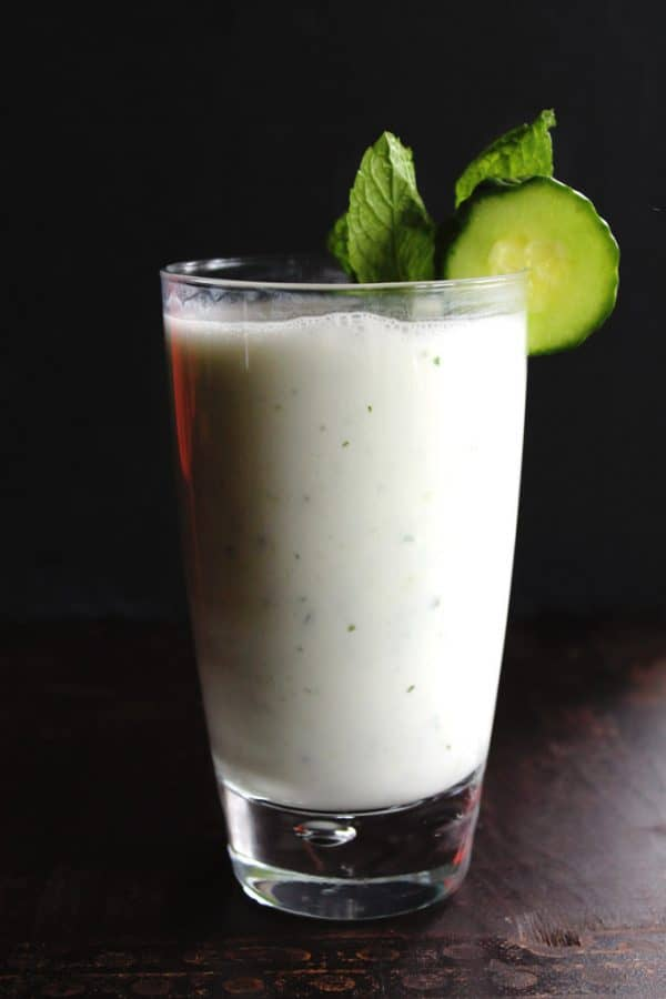 """Cucumber Doogh: Afghan Yogurt Drink - We've answered the question """"What to do with cucumbers?"""" The ULTIMATE list including appetizers, soups, salads, sides and more!"""