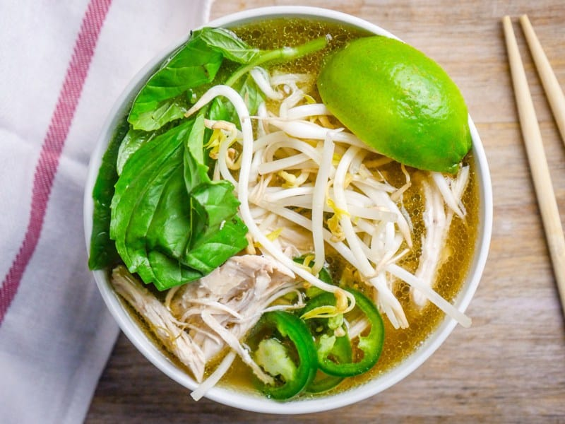 Chicken Faux Pho made in a pressure cooker! PLUS more great Electric Pressure Cooker Recipes!