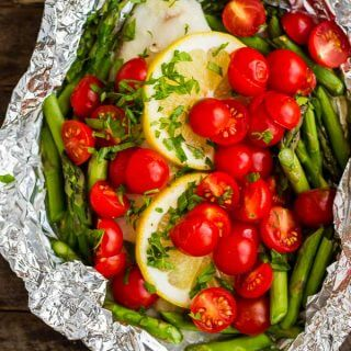 Baked Tilapia in Foil (four ways)!