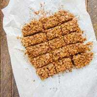 Best Almond Butter No Bake Granola Bars