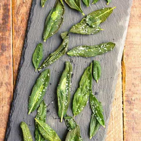 Fried Sage Leaves