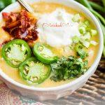 Chipotle Cheese Potato Soup