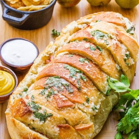 Garlic Bread Sandwich Loaf Recipe