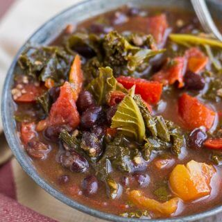 Black Bean and Kale Soup