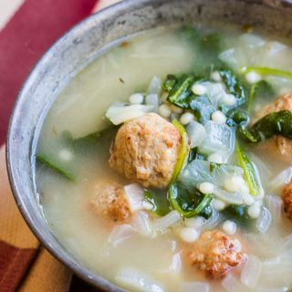 Easy Meatball Soup (and the Good Fast Eats Cookbook!)