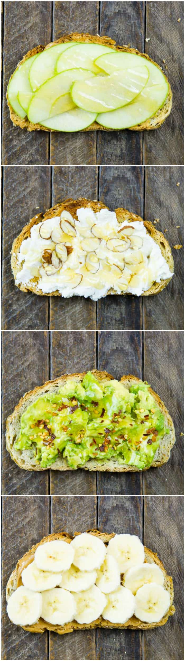Use Truvia® nectar wherever you use honey. There's less sugar and fewer calories which is why I drizzle it all over these healthy breakfast sandwiches!