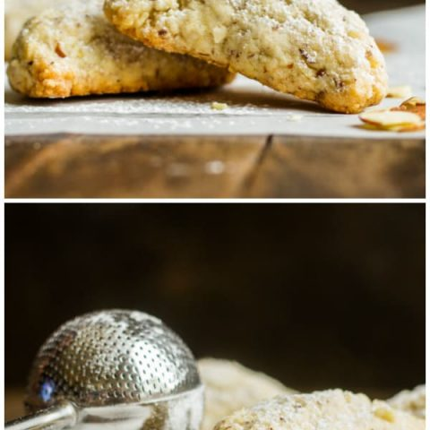 Another Almond Crescent Cookies Recipe - but this one comes from Dorie Greenspan! Light, crumbly, not too sweet and perfect for coffee or Christmas.
