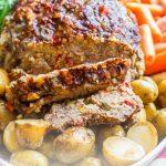 Balsamic & Parmesan Slow-Cooker Meatloaf