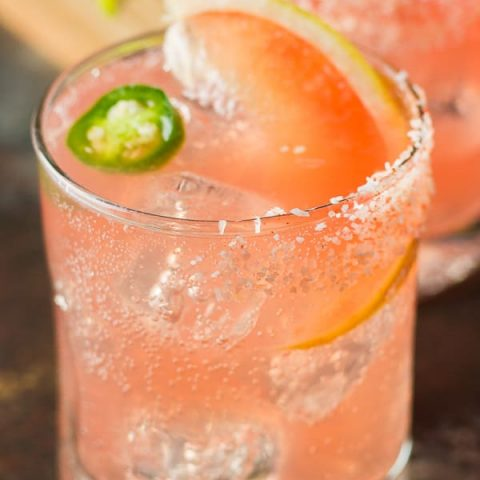Mezcal & Grapefruit Cocktail