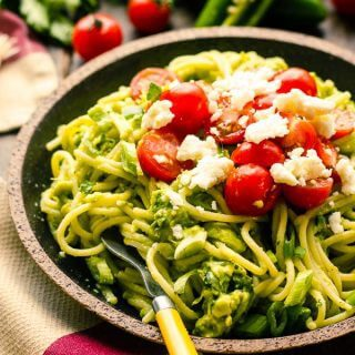 Spicy Avocado Pasta