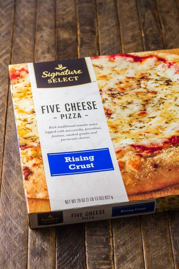 Easy Balsamic & Blue Cheese Pizza