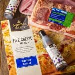 Easy Blue Cheese Balsamic Pizza