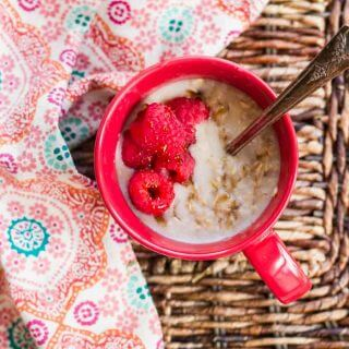 Single Serving Instant Pot Oatmeal