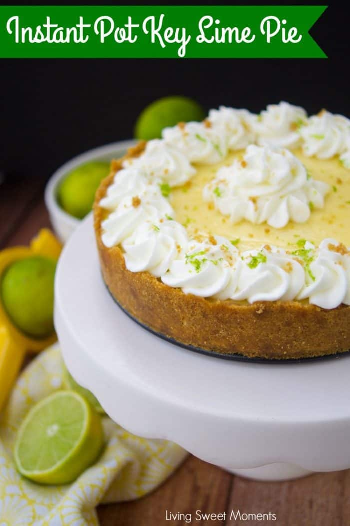 The Best Ever Instant Pot Key Lime Pie - plus more delicious Instant Pot desserts you'll LOVE to make!