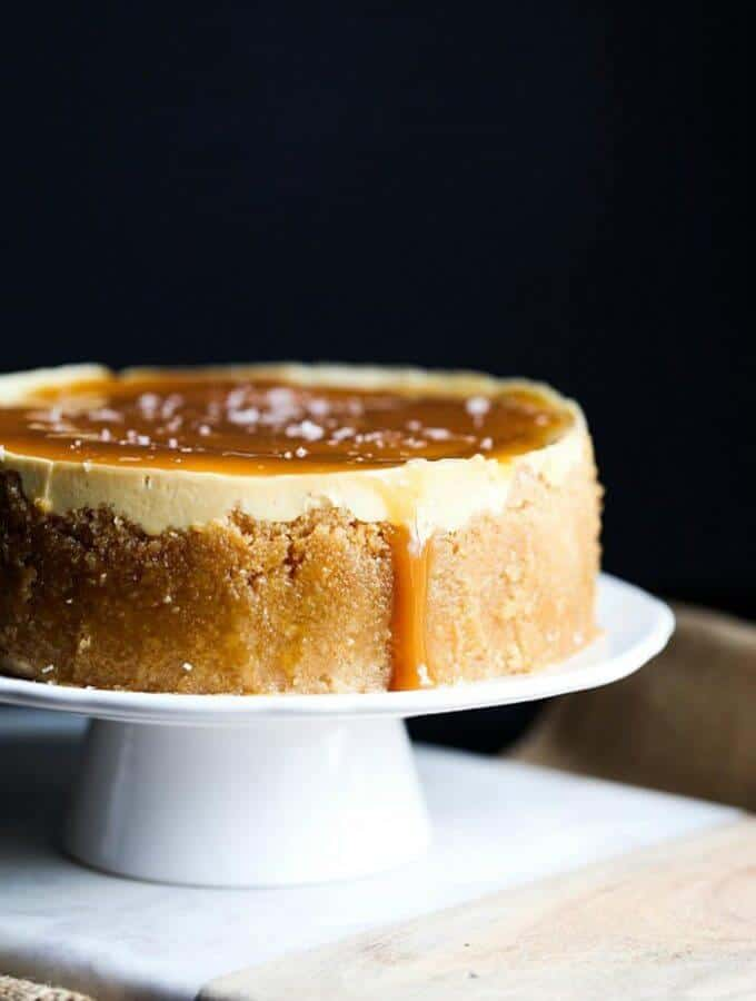 Instant Pot Salted Caramel Cheesecake - plus more delicious Instant Pot desserts you'll LOVE to make!