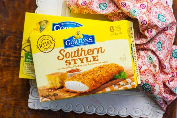 Gorton's Southwestern Fish & Veggie Bowl