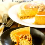 Pumpkin Instant Pot Cheesecake with a Granola Crust
