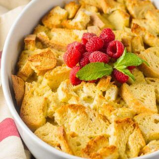 Overnight French Toast Bake with Fresh Berries