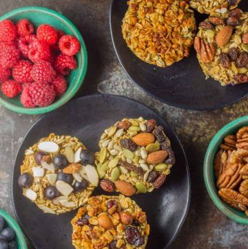 Baked Oatmeal Cups – Superfood Style