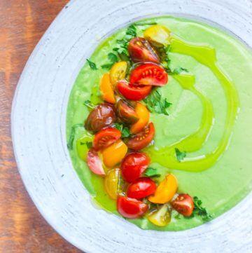 Avocado Soup – Simple & Healthy