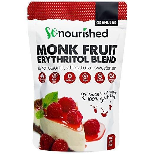 Monk Fruit + Erythritol Keto