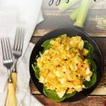 Buffalo Chicken Egg Salad (Keto)
