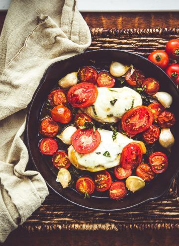 Air Chilled Tomato Basil Chicken with Roasted Garlic