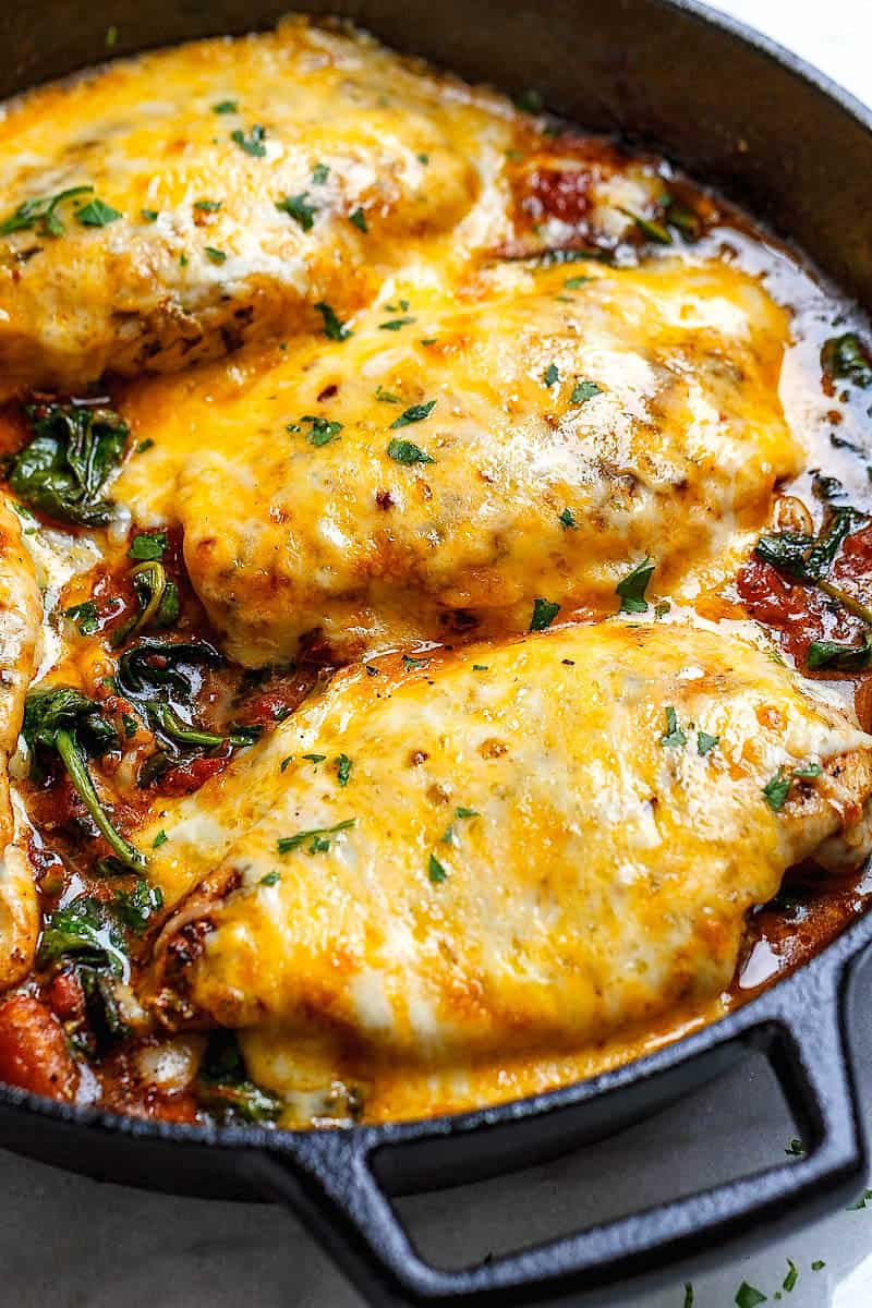 13 Delicious Keto Chicken Recipes The Wicked Noodle