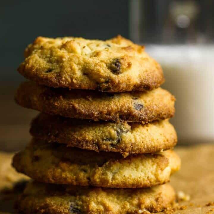 Keto Chocolate Chip Cookies