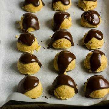 Keto Peanut Butter Cookie Dough Bites
