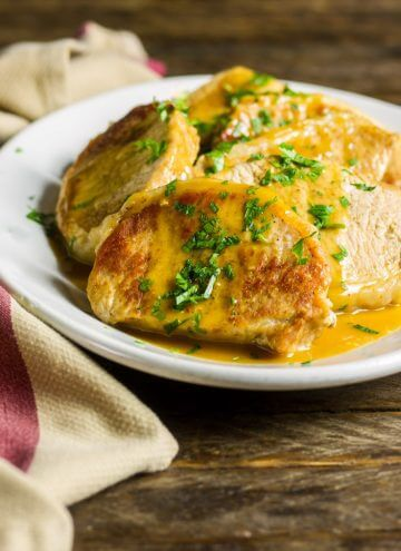 These delectable Instant Pot Pork Chops are from my first cookbook, Weeknight Cooking with your Instant Pot. They're delicious and great as keto pork chops, too!