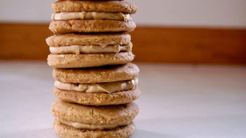 Homemade Keto Nutter Butter Cookies plus more great recipes for keto cookies!