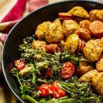 Sausage & Broccolini Sheet Pan Dinner