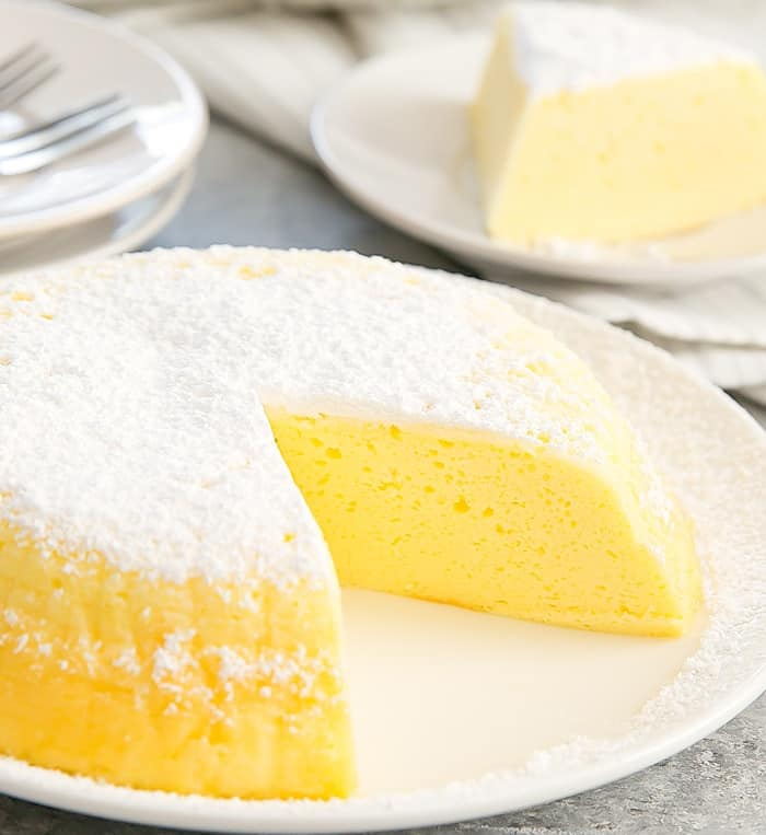Instant Pot 3 Ingredient Japanese Cheesecake