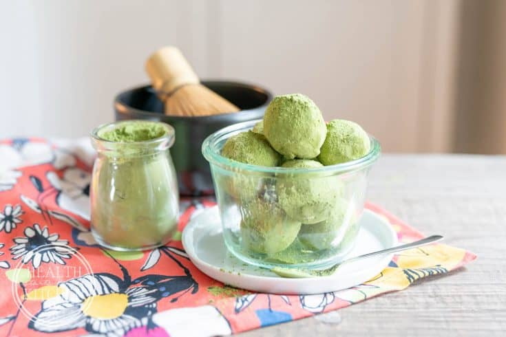 Keto Matcha Latte Fat Bombs
